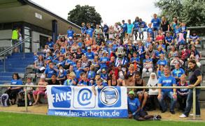 fans@hertha / Die Arche - Ferientag 2012 | Kindergruppenfoto