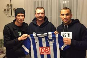 Fabian Lustenberger, Jörg und Änis-Ben Hatira