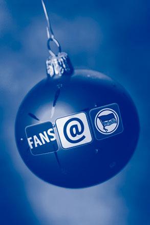 fans@hertha Weihnachtsbaumkugel
