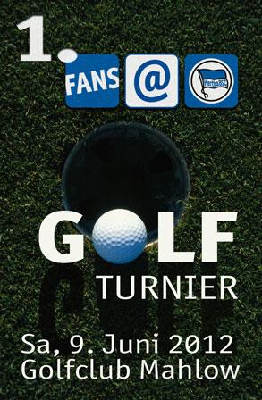 1. fans@hertha Golfturnier   Golfclub Mahlow, 9. Juni 2012